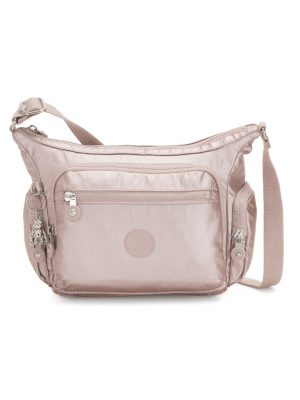 Kipling Gabbie S metallic rose